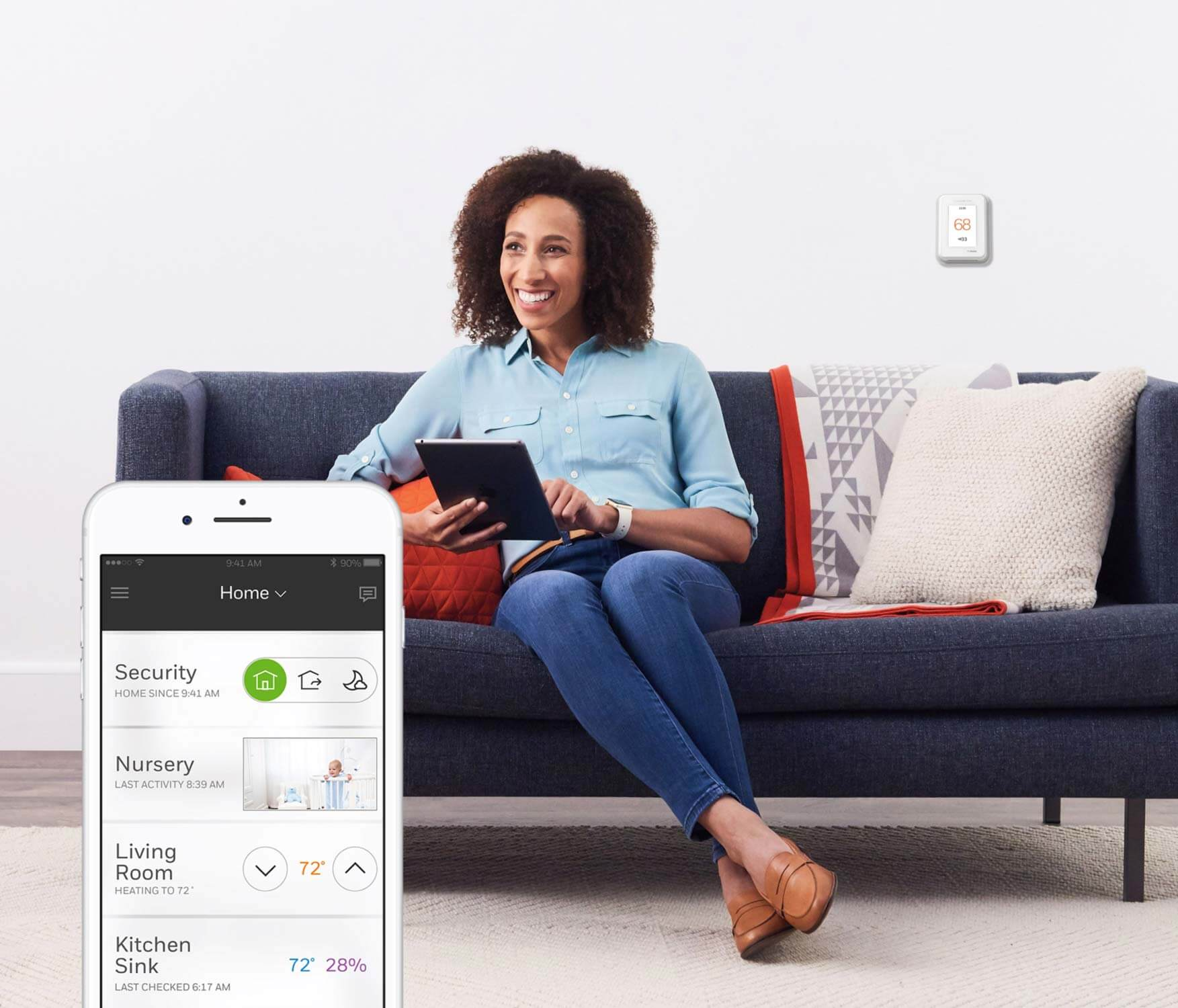 The Honeywell Home smart home automation app connects all your Honeywell Home products.