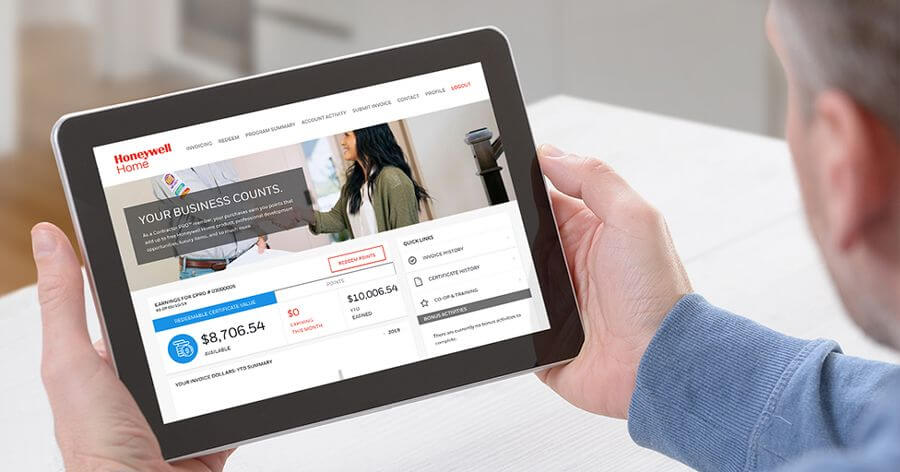 Resideo PROs: Bold Rewards, Big Returns and a Web Portal That's Easier to Navigate