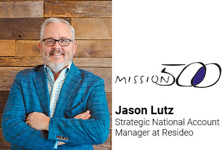 5 Questions with Jason Lutz, Strategic National Account Manager at Resideo and a Board Member for the Nonprofit Organization Mission 500