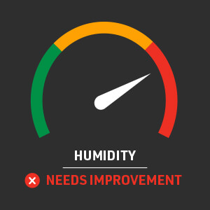Air Quality Assessment Humidity Gauge