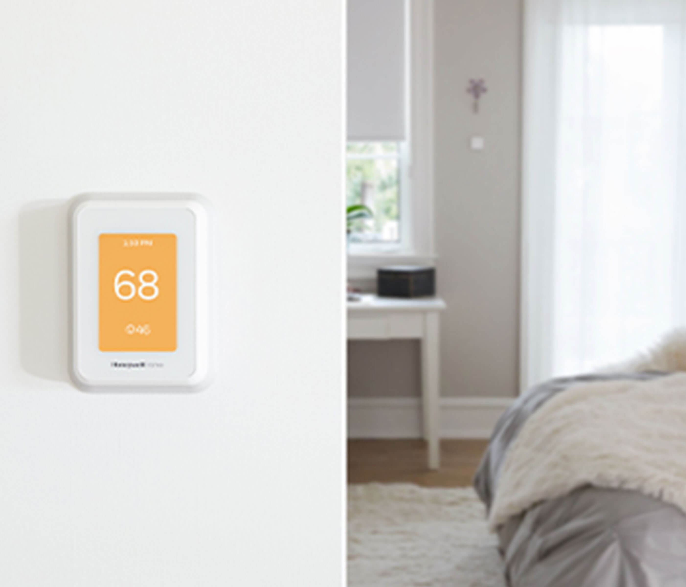 Smart thermostat that helps with energy savings