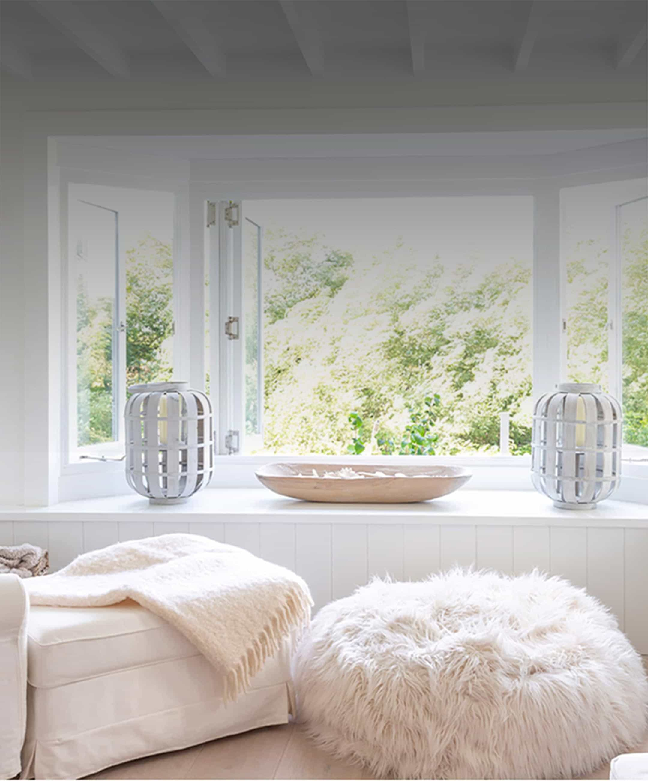 Room with fresh air at any time of year