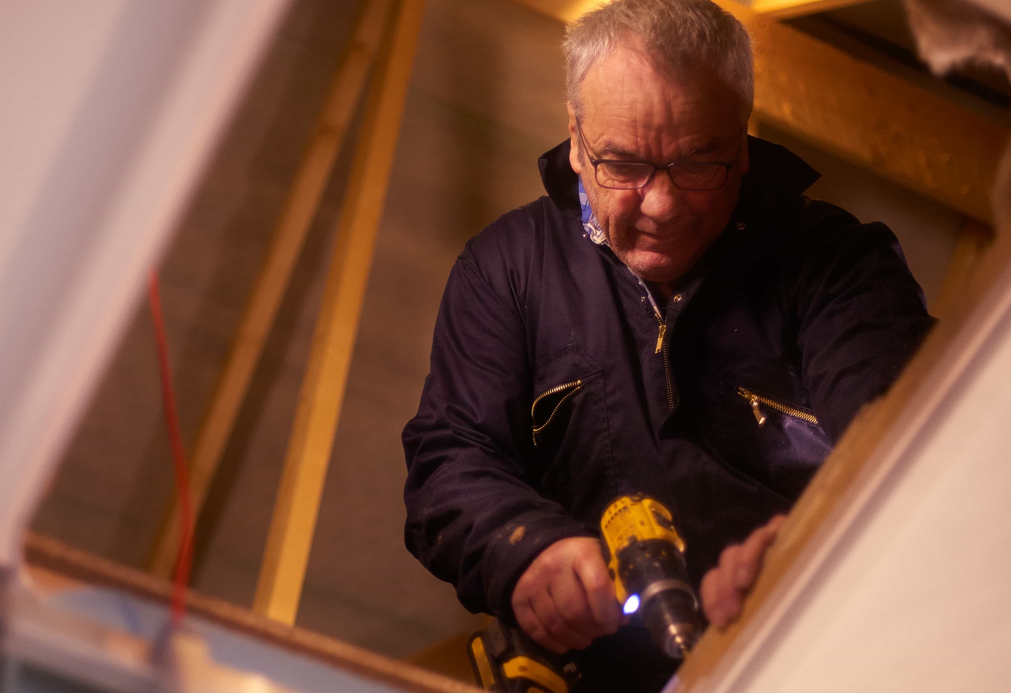 Energy efficiency in the attic, basement and walls