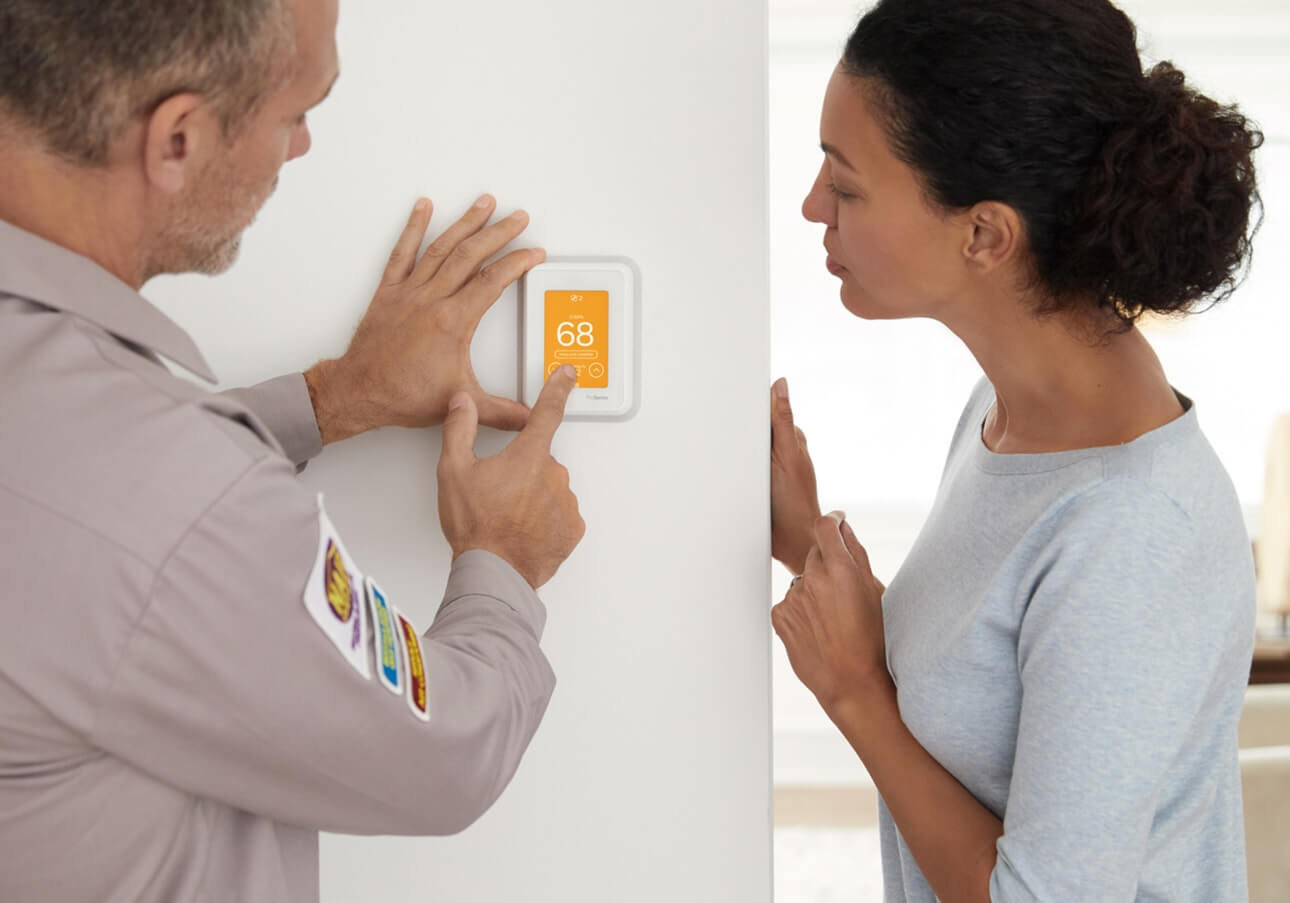 Zoning controls help control which rooms get heat