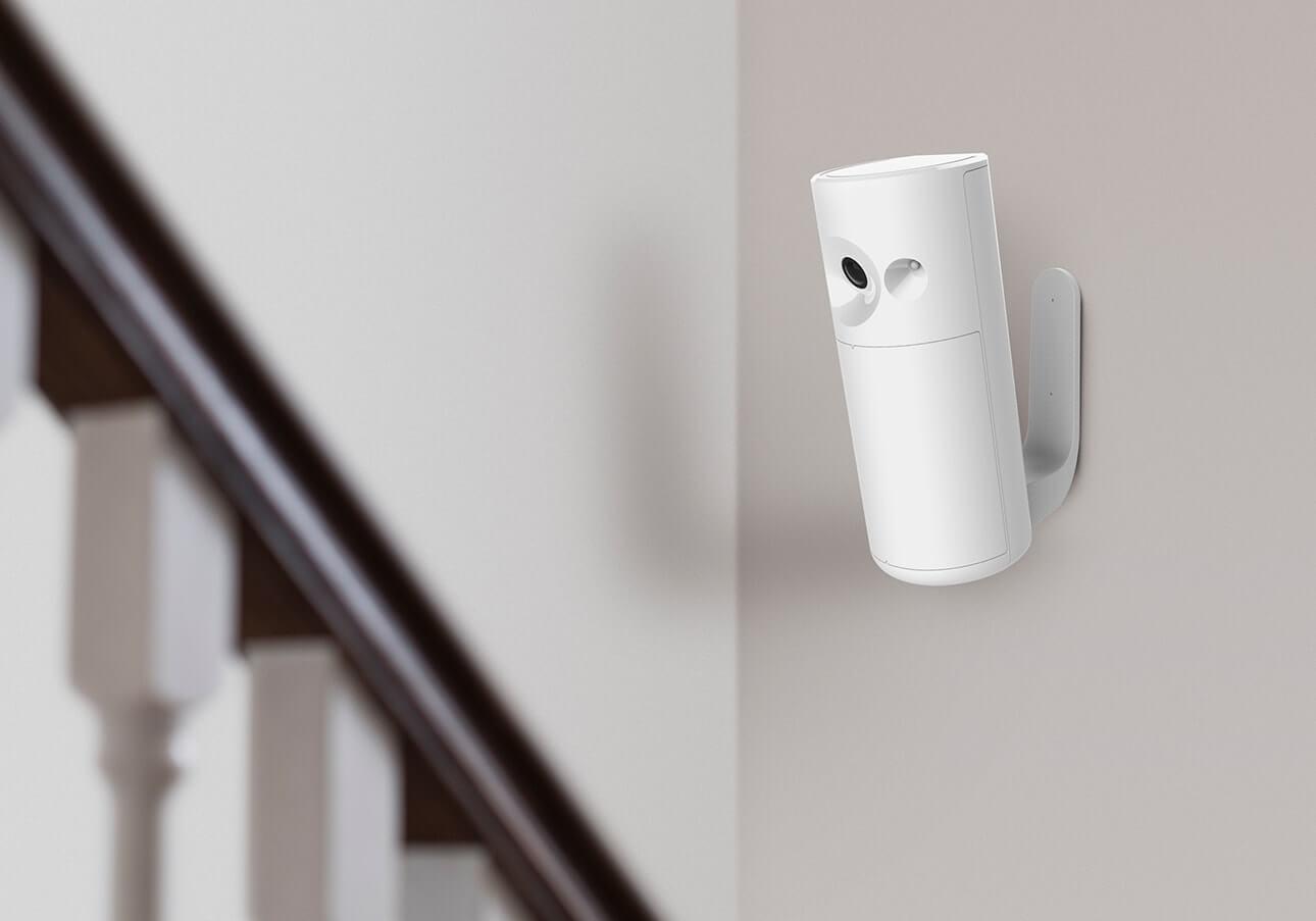 Smart home security indoor motion detector