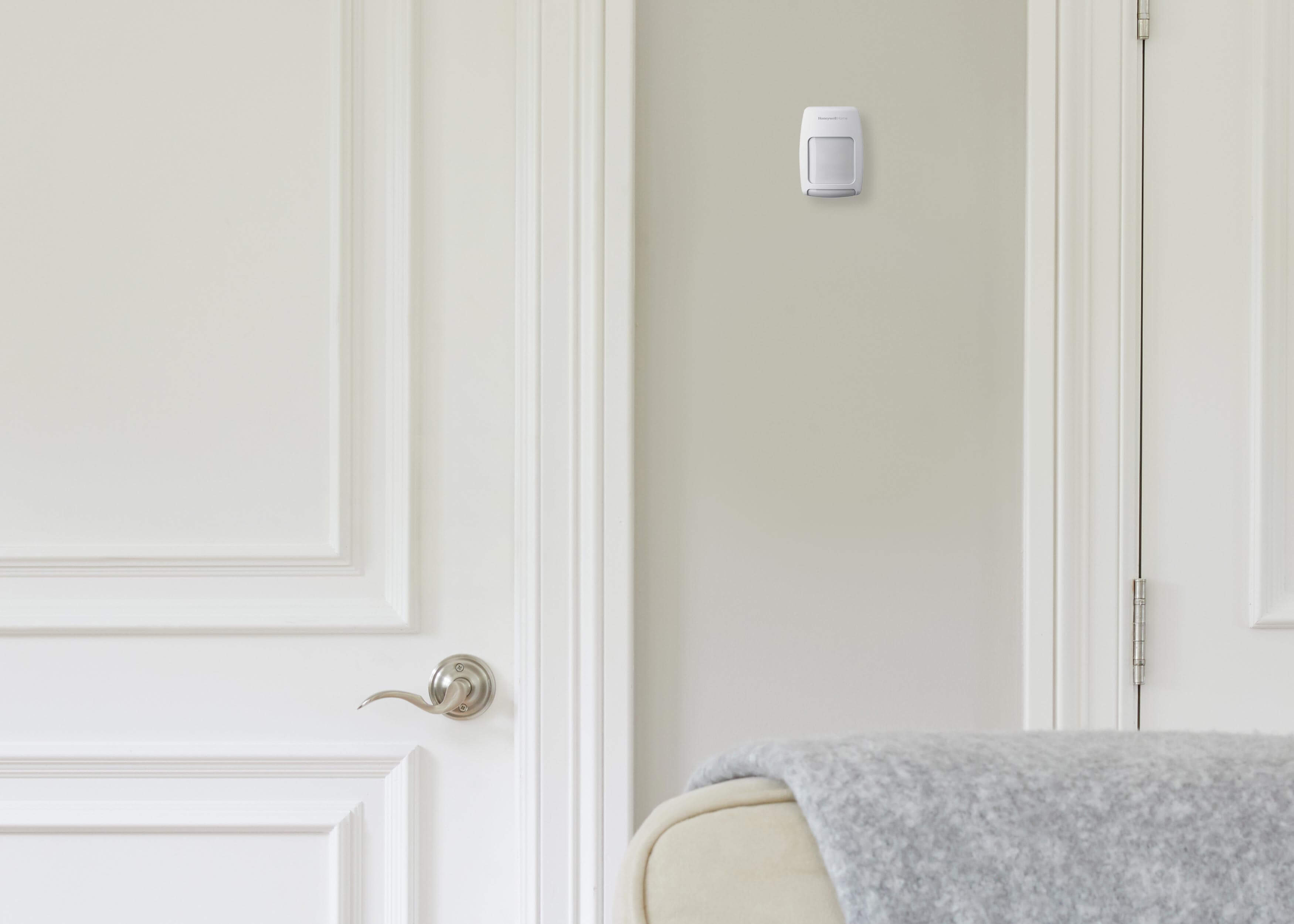 Contractor installing smart home product security solutions