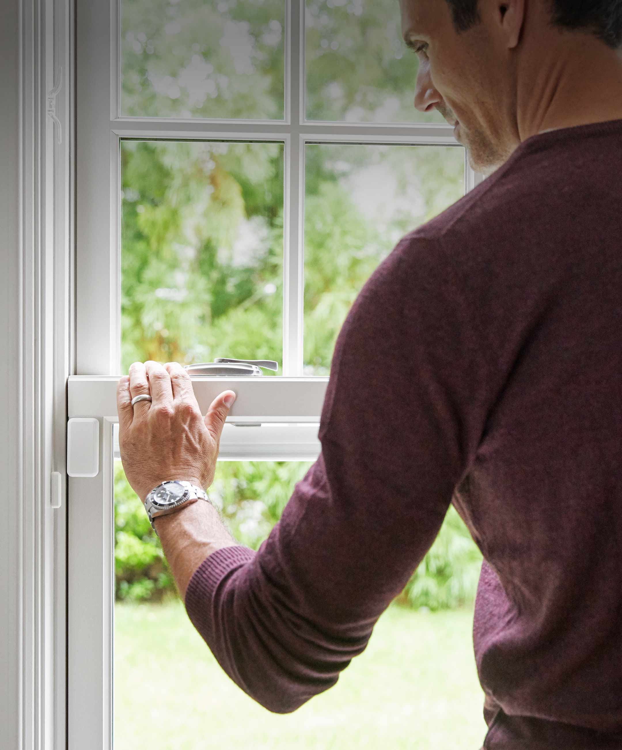 Smart home security sensors