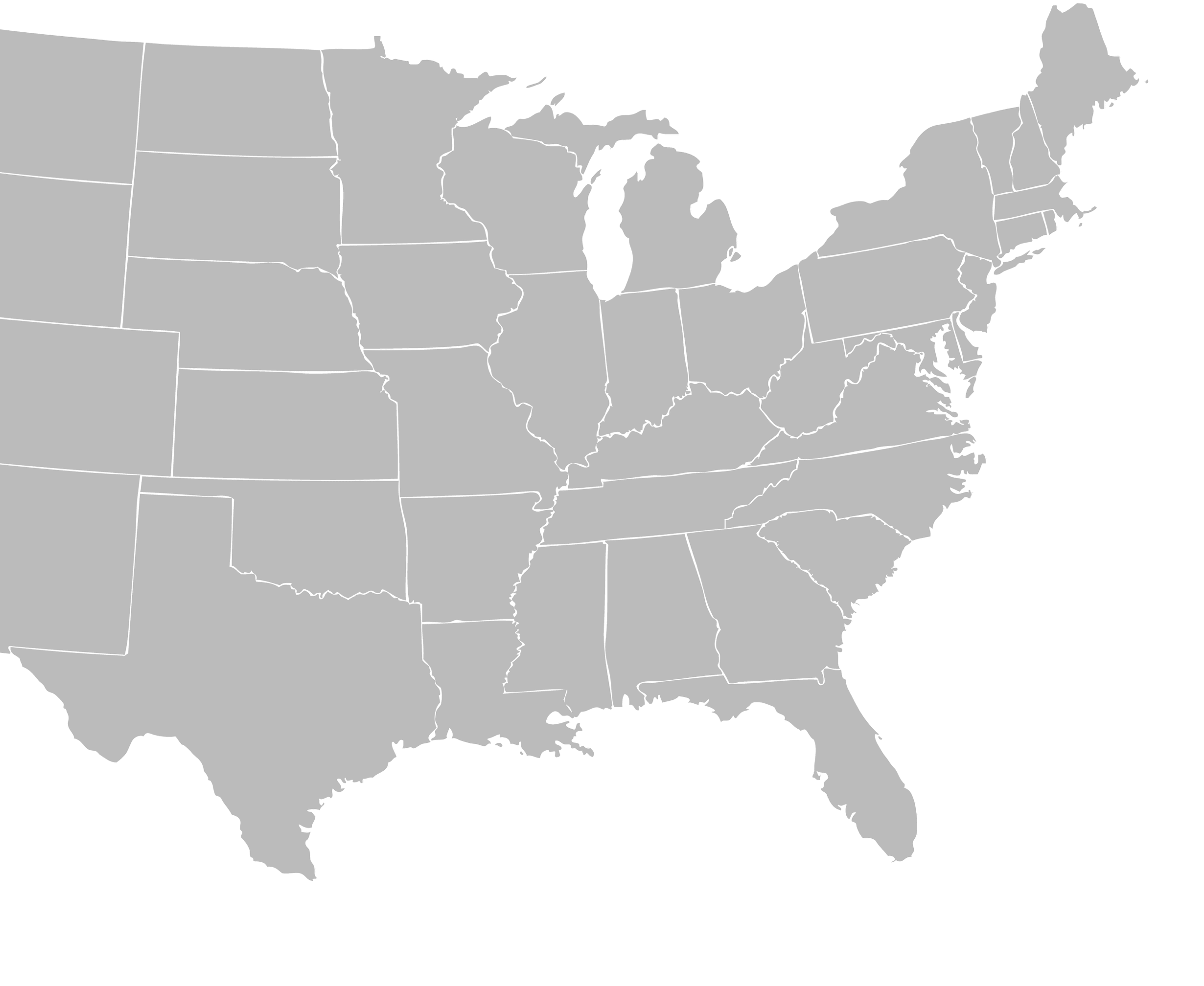 AlarmNet Service Coverage Areas