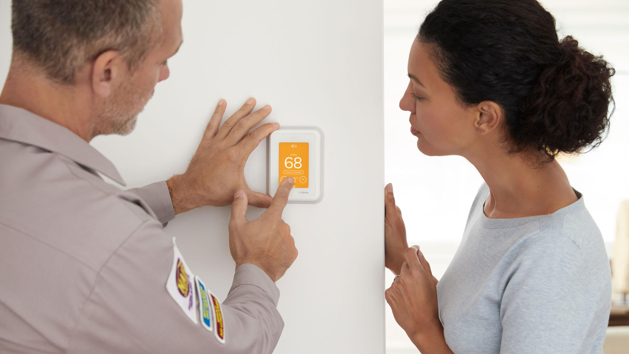 Connected Thermostats working with Total Connect 2.0